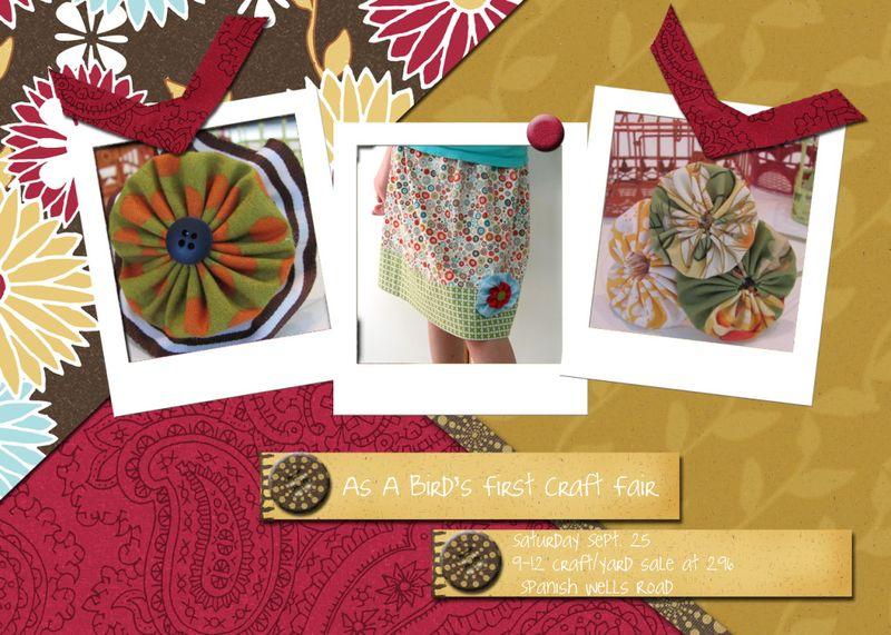 Picnik collage craft fair